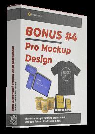 Pro Mockup Design (Rp. 250.000)